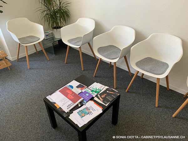 Le cabinet psy à Lausanne