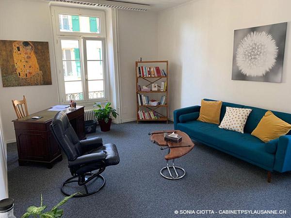 Cabinet de psychologie à Lausanne